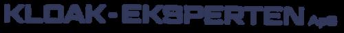 Kloak eksperten logo